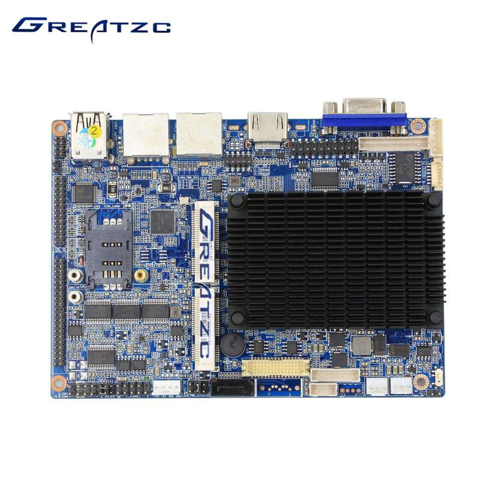 ZC35-EN2807DL 3.5'' Dual LAN Fanless Motherboard With 6 COM Ports
