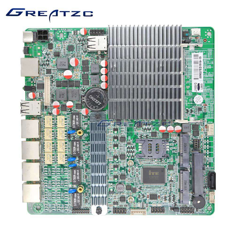 ZC-BT194L 4 Ethernet Ports Mini Itx Motherboard