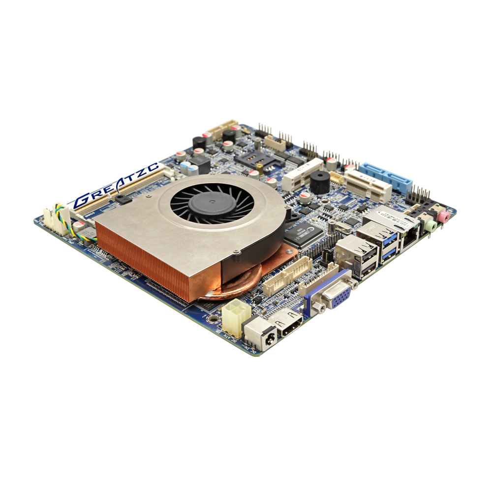 ZC-ION4-5200  I5 5200u 4K Display Nvidia GT730 MINI ITX Motherboard