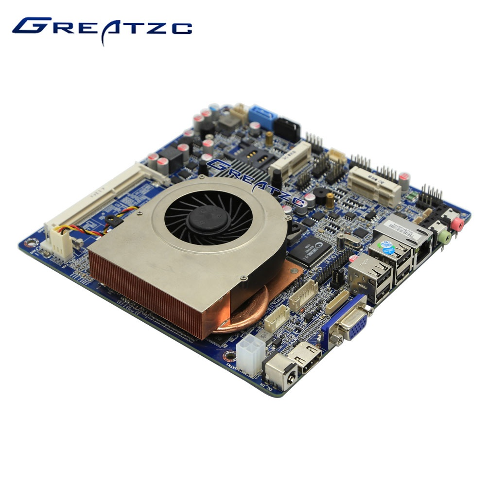 ZC-ON4-1037 Mini ITX Motherboard 1037U CPU Industrial Grade Nvidia GT730 Graphic