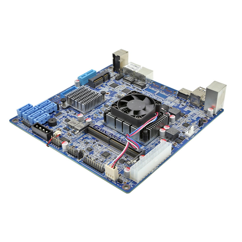 ZC-3855DN-NAS With 6 SATA 3.0 NAS Mini Itx Mainboard
